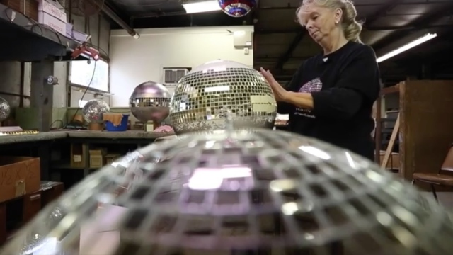Yolanda Baker, last of the disco ball makers