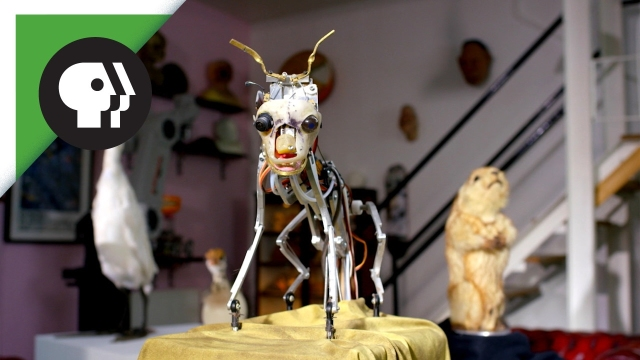 The animatronic animals of Spy in the Wild