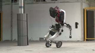 Handle, Boston Dynamics' robot on wheels