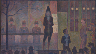 "Relighting ""Circus Sideshow (Parade de cirque)"" by Georges Seurat"