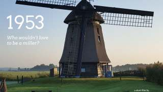 1953: Preserving and operating a wimmenumermolen polder mill