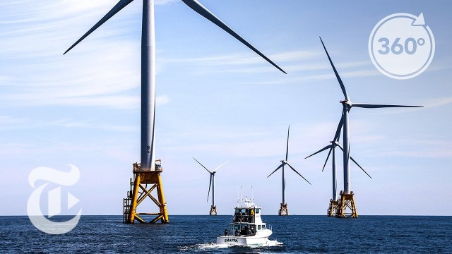 An 'Awesome' 360° View At America's First Offshore Wind Farm