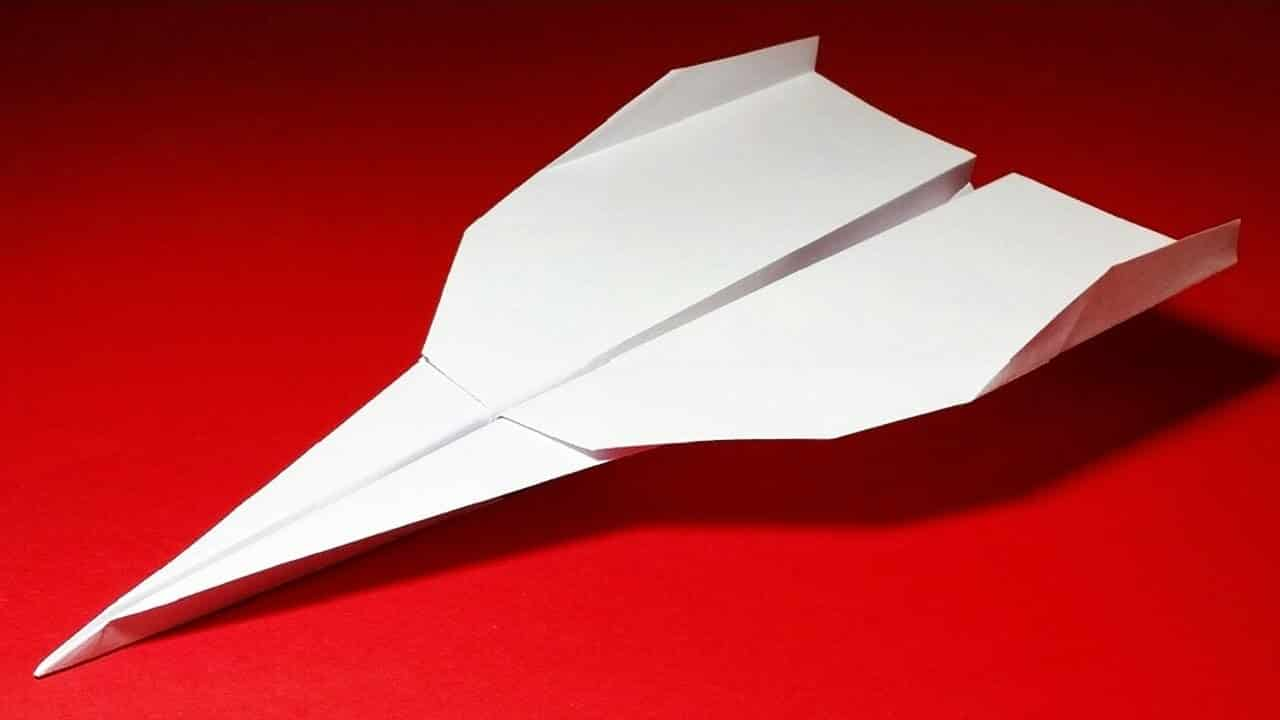 How To Make A Paper Airplane That Flies Far Strike Eagle The Kid