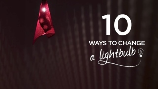 10 Ways to Change a Lightbulb