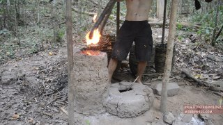 Simplified blower and furnace experiments –Primitive Technology