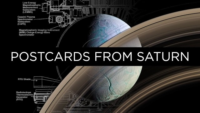 Postcards from Saturn: The incredible images that Cassini sent home