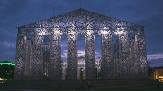 Marta Minujín's 'Parthenon' of Banned Books in Kassel
