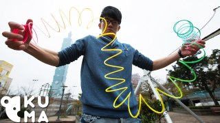 Ridiculous Tricks You Can Do With a Slinky