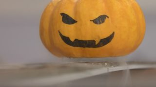 Levitating pumpkins! Halloween superconductor science