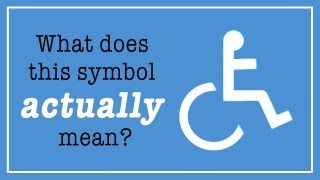 What does the wheelchair symbol actually mean?