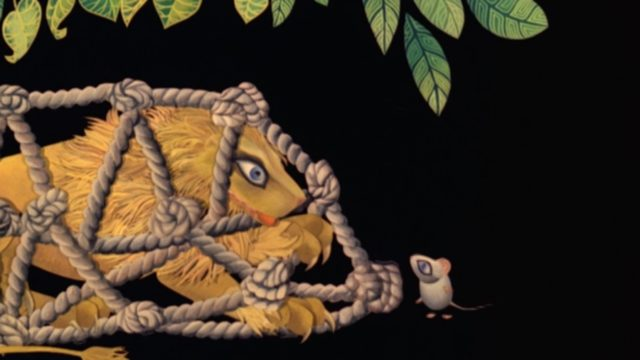 The Lion and the Mouse (1976) – Evelyn Lambart
