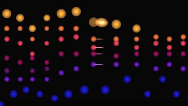 Music Animation Machine, colorful visualizations of classical music