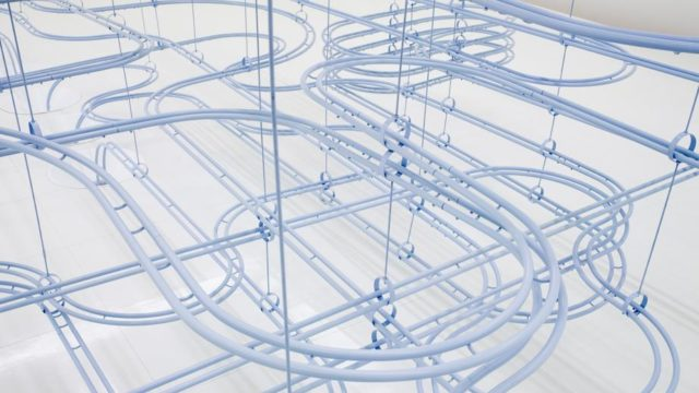 COS & Snarkitecture's Loop, a 400 meter marble run in Seoul