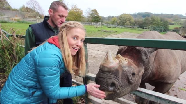 Rhino Keepers for a Day
