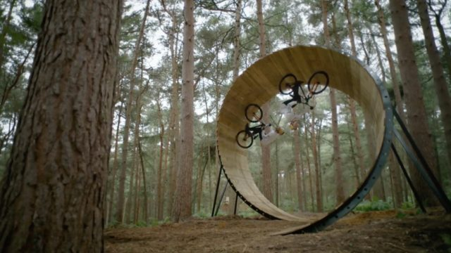 Frames of Mind: Tricks visualized by freestyle mountain biker Matt Jones