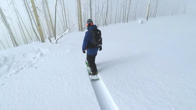 Pow Surf 101: Powder surfing to Debussy's Clair de Lune