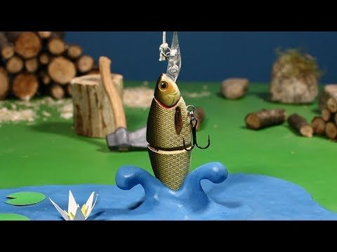 Going Fishing, a stop motion animation by Guldies
