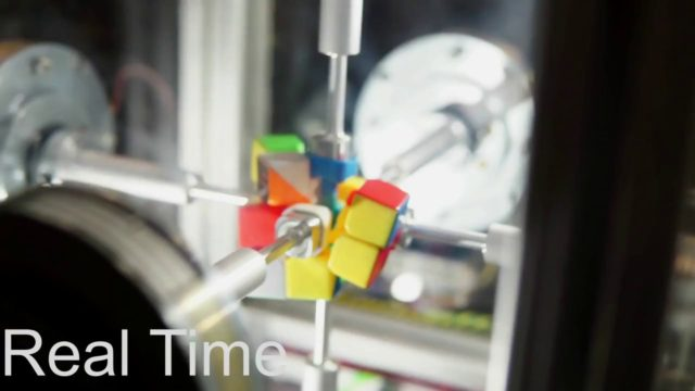 Solving a Rubik's Cube in 0.38 seconds