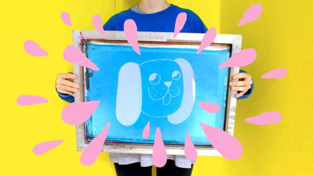 How to screen print, a video series by Eva Stalinski