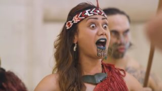 Kapa Haka, a traditional Māori art form