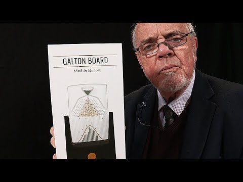 Math in Motion: Playing with a desktop Galton Board