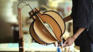 How Japanese paper lanterns are made