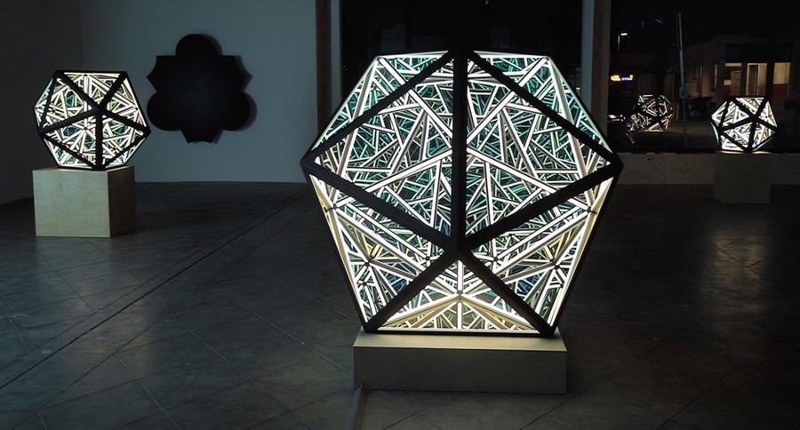 Next Yayoi Kusamas Infinity Mirrors Unwoven Light LENSES The ORBIS FLY Kinetic System And How To Make Your Own LED Trampoline