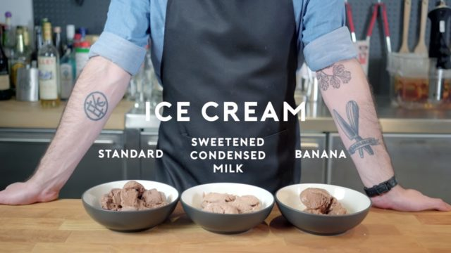 How to make homemade ice cream three different ways
