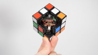 The Self-Solving Rubik's Cube