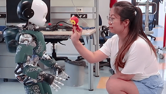 iCub, IIT's teleoperated robot toddler