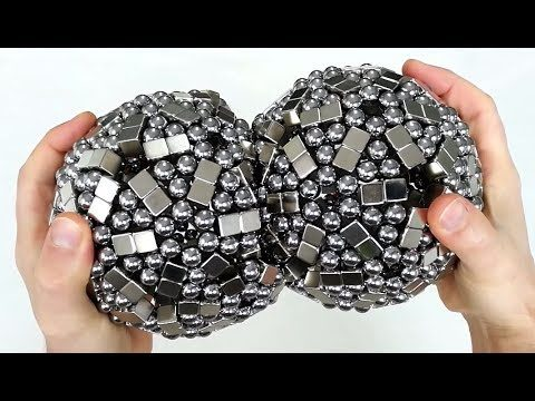 'Making' magnetic sculptures