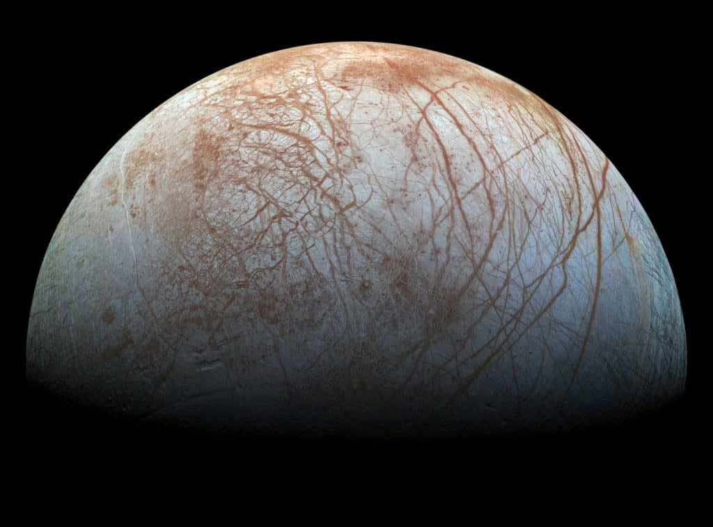 europa icy surface