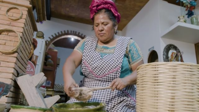 Abigail Mendoza, world renowned Zapotec chef