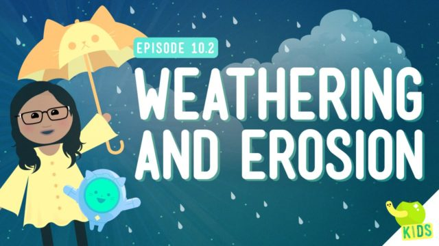 Earth's Hydrosphere and Geosphere + Weathering and Erosion