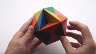 How to make an origami Butterfly Ball