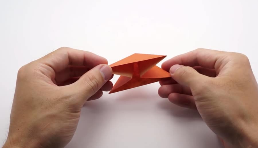 how to fold an origami butterfly ball