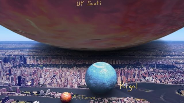 Revealing the true scale of the universe with VFX