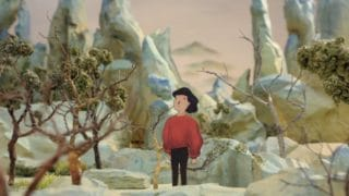 Traveling Through Brush and Ink: Stop-motion set in four ancient Chinese paintings
