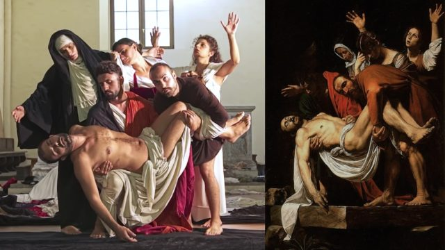 Tableaux Vivants: Caravaggio paintings performed live