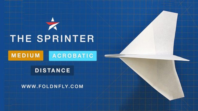 Fold 'N Fly paper airplane instructions & video tutorials
