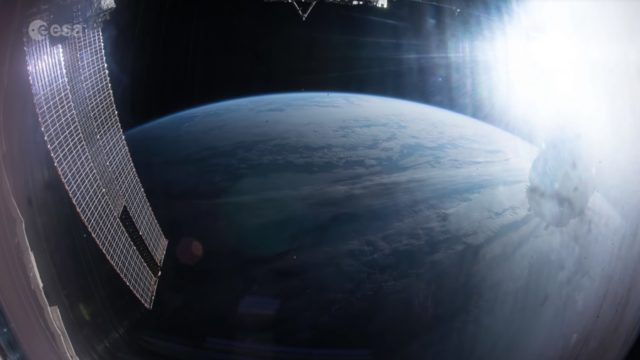 The longest continuous time lapse from space
