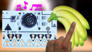 How can bananas make music?