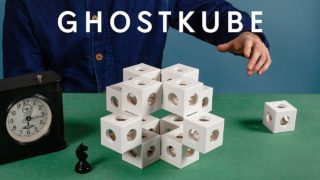 Reconfigurable Ghostkube sculptures