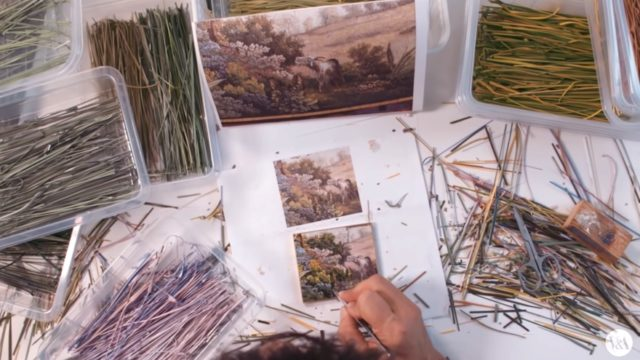 How micromosaics are made