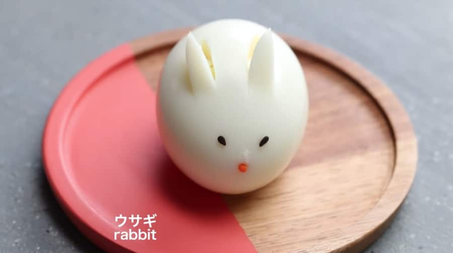 cute egg rabbit
