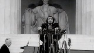 Marian Anderson's 'defiant performance' at the Lincoln Memorial