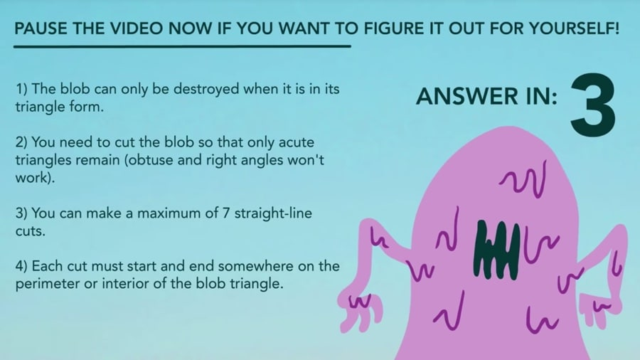 stop the blob riddle rules
