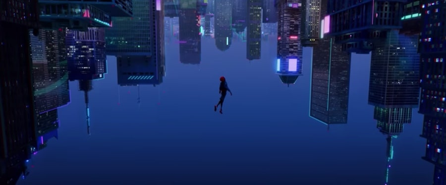 into the spider-verse animation