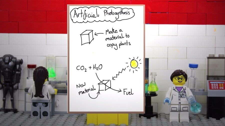 artificial photosynthesis in LEGO