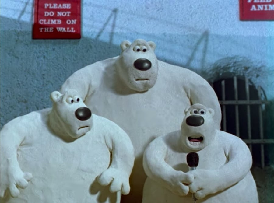 creature comforts - polar bear family